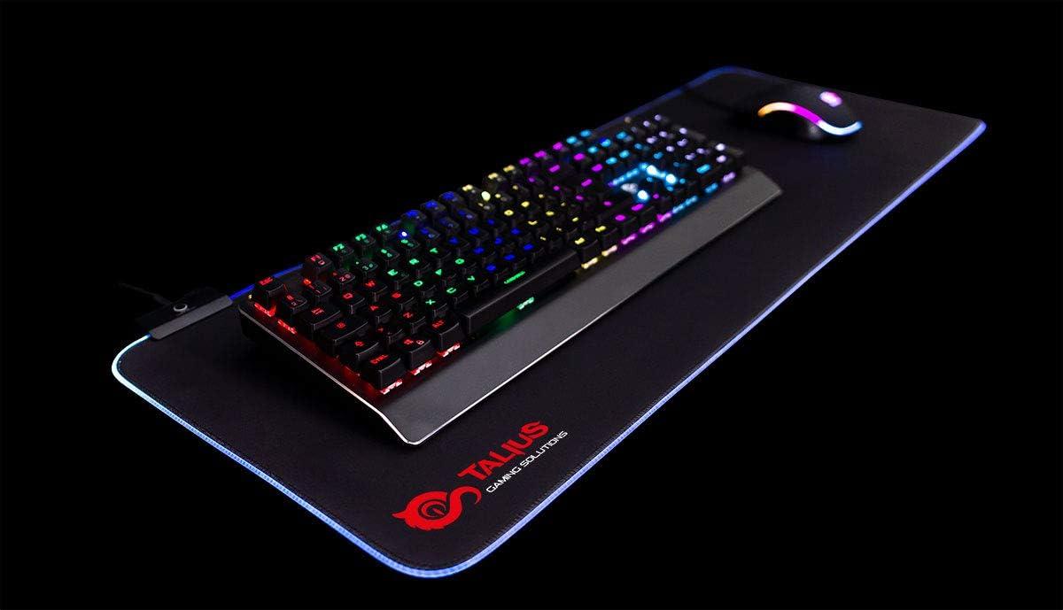 Talius Alfombrilla Gaming Tatami XXL retroiluminada RGB ...