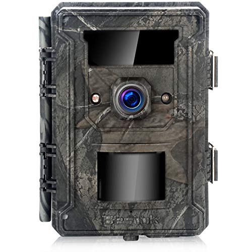 Bestok Trail Game Hunting Camera 12MP HD 120° 2.4' LCD Wildlife Camera with Night Vision Motion...