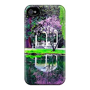 New Style Matheilliams Gazebo In Park Premium Tpu Cover Case For Iphone 4/4s