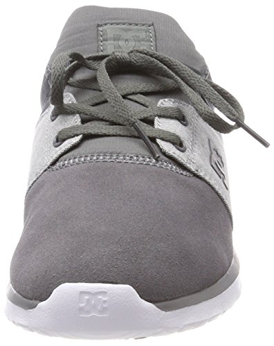 DC Shoes Heathrow Se, Sneaker Uomo Grau (Grey/Grey/White - Combo Xssw)