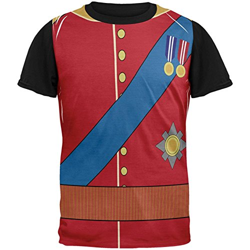 rming William Costume All Over Mens Black Back T Shirt Multi MD ()