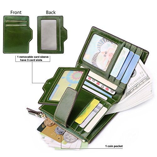 Green Wallet Ainimoer Passport Green Ainimoer 7zqfO