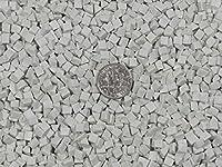 5 Lb. 6 mm X 6 mm Polishing Triangles Non-Abrasive Ceramic Tumbling Tumbler Tumble Media