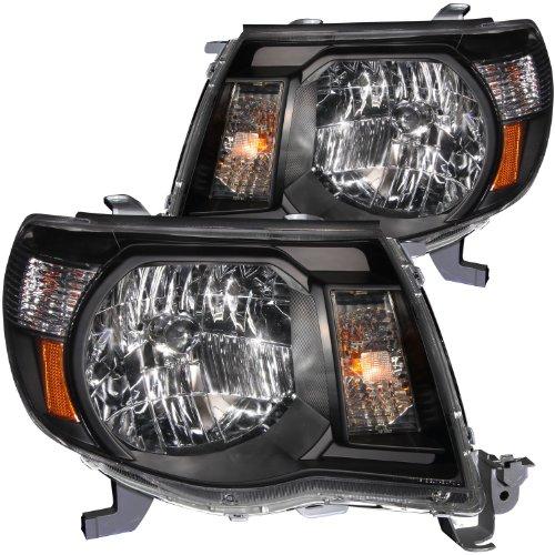 HEADLIGHT Toyota Tacoma 2011 CRYSTAL BLACK AMBER (Tacoma Black Headlights compare prices)