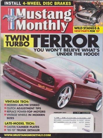 (Mustang Monthly Magazine (February 2007) (Twin Turbor Terror))