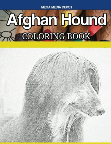 Afghan Hound Coloring Book Afghan Hound Animals