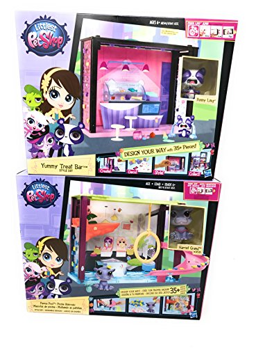 World Book Day Costumes For Older Girls (Girl Toys Bundle Toys Littlest Pet Shop Pet Style your Way Playset - Pawza Pool 7965and Yummy Treat Bar style set (Chomper McConnell, Hamilton Rumble and Penny Ling ))