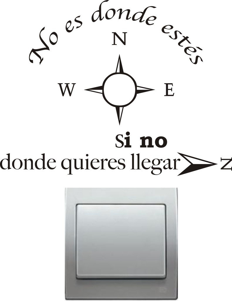 Vinilo decorativo pegatina pared, cristal, puerta (Varios colores a elegir)-frase SUPER STICKER