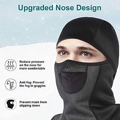 Unigear Sturmhaube, Balaclava Gesichtsmaske Skimaske