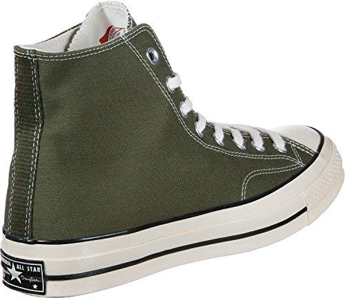 Converse Unisexe Adulte All Star Prem Chaussures De Remise En Forme Salut 197 Textile, D'olive Blanc