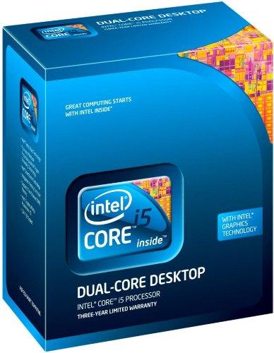 Intel Core ® ™ i5-670 Processor (4M Cache, 3.46 GHz) 3.46