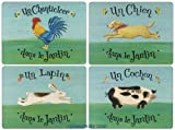 Pimpernel Dans le Jardin Placemats Set of 4 (Large)
