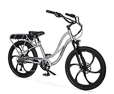 "Pedego Interceptor 26"" Platinum Step Thru with Mag Wheels 48V 15Ah"