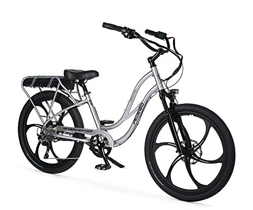 "Pedego Interceptor 26"" Platinum Step Thru with Mag Wheels 48V 10Ah"