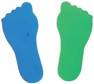 AMAYA - PIES DE CAUCHO. Set 20 ud., 10 azules 10 verdes - VIMSP-816-410370 Amaya Sport Amaya_410370