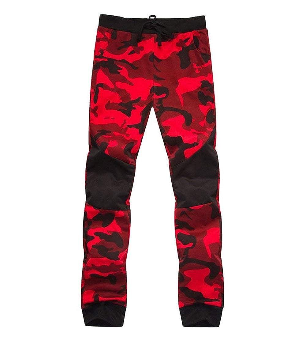 Huixin Pantalones Casuales De Los Hombres Largos De Pantalones ...