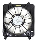 2012 Acura TSX A/C Condenser Fan Assemblies - A/C Condenser Fan Assembly - Cooling Direct For/Fit HO3113123 08-12 Honda Accord Sedan/Coupe 4CY 09-14 Acura TSX