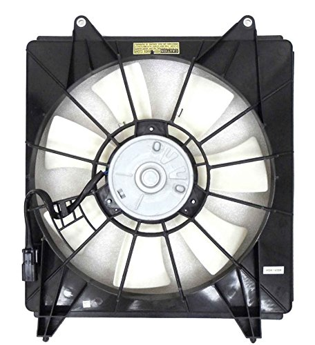 A-C Condenser Fan Assembly - Cooling Direct For/Fit HO3113123 08-12 Honda Accord Sedan/Coupe 4CY 09-14 Acura ()