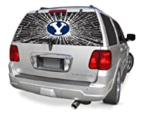 Brigham Young Cougars Shattered Auto Rear Window Decal