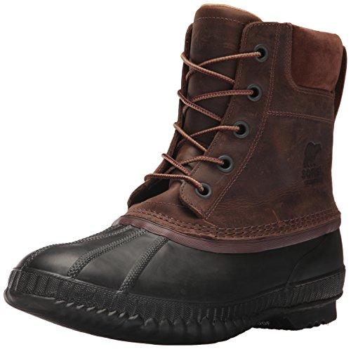 Sorel Men's Cheyanne II Snow Boot, Tobacco, Black, 11 D US ()