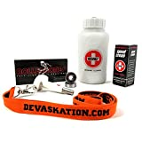 Roller Bones Bearing Clean And Lube Maintenance Package With Bearings and Devaskation Lanyard