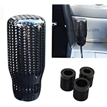 Universal CARBON FIBER Manual Transmission Speed 4 5 6 Sport Gear Stick Shift Knob Nismo Style Car Shifter Console Lever