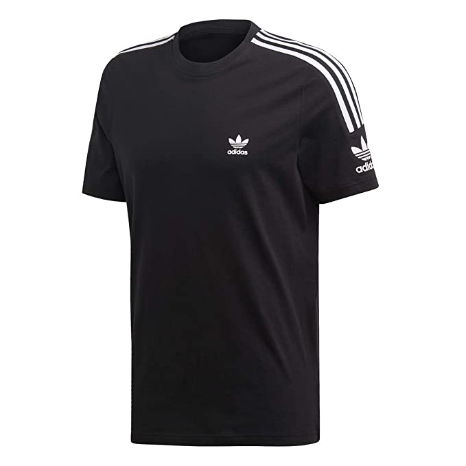 adidas Originals Men's Lock Up Tee, black, Medium