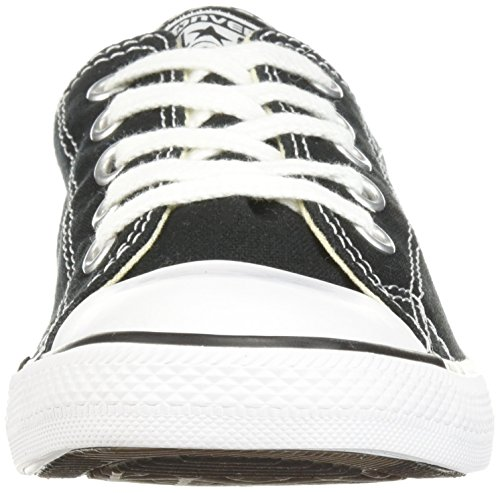 donna Dainty Black Leath Sneaker 001 Nero 52 17 289050 Converse Ox 7fw6cq