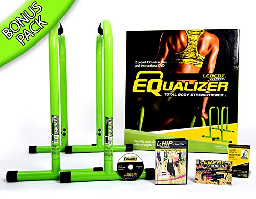 Lebert Fitness Equalizer Lime Green Bonus Pack
