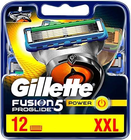 Gillette Fusion ProGlide Power System Cuchillas 12 Estantería ...