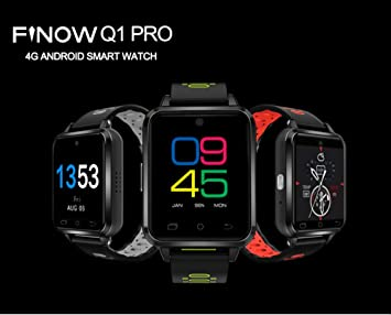 Amazon.com: SUNLMGQ1 Pro Smart Watch Card Information Synchronization Sports Meter Step Heart Rate Bluetooth Anti-Lost Waterproof Suitable for ...