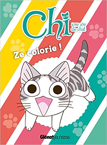 Coloriage Chat Chi.Chi Une Vie De Chat Ze Colorie Amazon Ca Konami Kanata