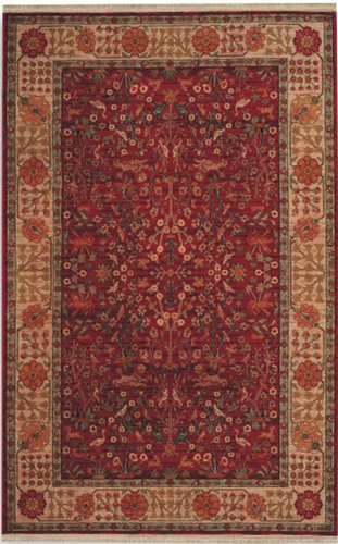 Antique Rose Rug - Karastan Antique Legends Emperor's Hunt Oriental Rug Size: 8'8