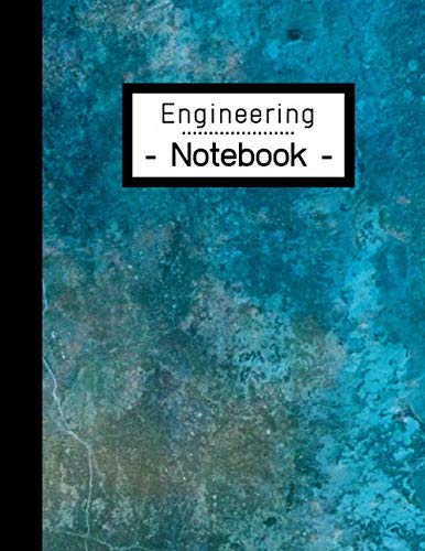 Engineering Notebook: Engineer Lab Graph Paper - Quad Ruled for Laboratory Work: 100 Pages | Notebook for Students | Blue Green Design