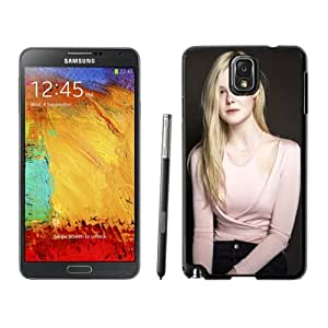 Fashion DIY Custom Designed Samsung Galaxy Note 3 Phone Case For Elle Fanning Phone Case Cover