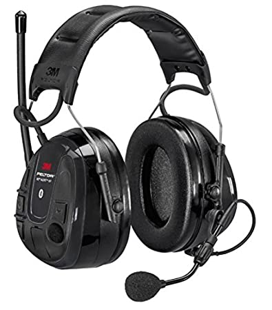 3M Peltor MRX21A2WS6-ACK WS Alert XP - Auriculares de diadema, color negro: Amazon.es: Bricolaje y herramientas