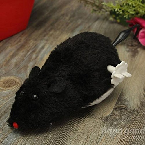 Bazaar Cat Toy Wind Up Mouse Mice Pet Toy Walking Furry Mouse Rat