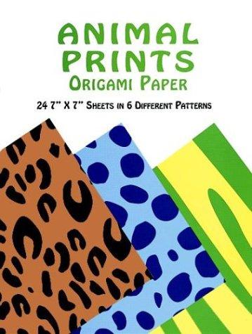 Animal Prints Origami Paper - Origami Paper Animal Prints