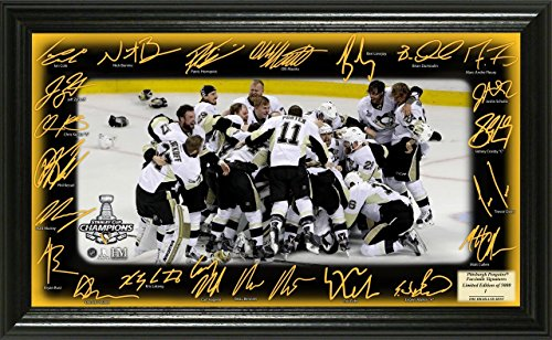 """NHL Pittsburgh Penguins 2016 Stanley Cup Champions """"Celebration"""" Signature Rink, 22"""" X 15"""" X 4"""""""