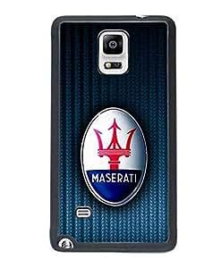 Car Logo Maserati New Style Charming Design Cover For Samsung Galaxy Note 4 Carcasa Case