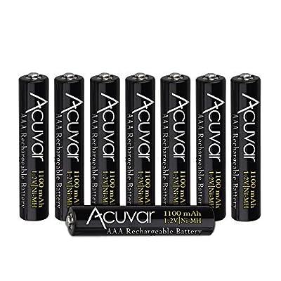 Acuvar Rechargeable Batteries