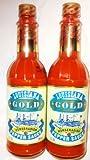 Louisiana Gold Horseradish Pepper Sauce 5 fl. oz. (Pack of 2)