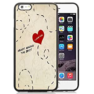 NEW DIY Unique Designed iPhone 6 Plus 5.5 Inch Phone Case For Heart Marks The Spot Phone Case Cover