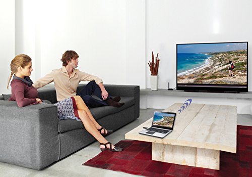 Diamond Wireless Kit, TV Transmitter & Receiver Stream Content Laptops, PC, Cable Box, Satellite PS3, Xbox