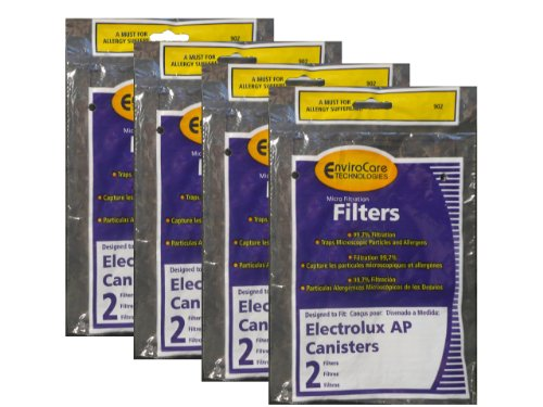 (8) Electrolux Aerus AP100 Canister Vacuum Micro electrostatic Filter LE 2100, Diplomat, Ambassador, Epic 6500, Full Kit, 200 350 622 10 , 079 (Electrolux Diplomat Vacuum compare prices)