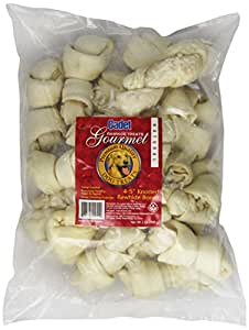 IMS Trading 10051 Natural Rawhide Bone for Dogs, 4-5-Inch, 2-Pound