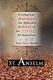 Proslogium; Monologium;, St. Anselm, 1592442420