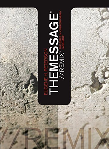 The-Message-Remix-The-Bible-In-contemporary-Language