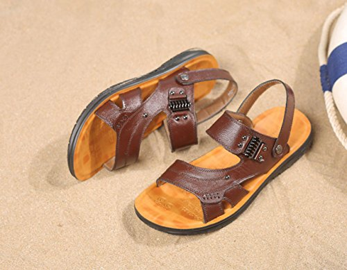 Hombres De Aire Los Los De Libre Playa Senderismo Casuales Verano Brown Al Sandalias Transpirable Zapatos Deportes fACqYwqWxU