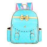 Zhhlinyuan Personalised Cute Bowknot Children Kids School Bags Preschool Backpacks Korean Style for Girls